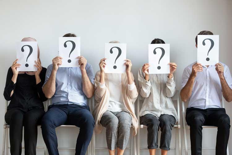 applicants prepare to answer questions