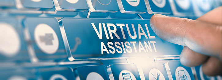 virtual assistant title banner