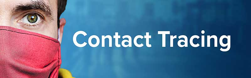 contact tracing title banner